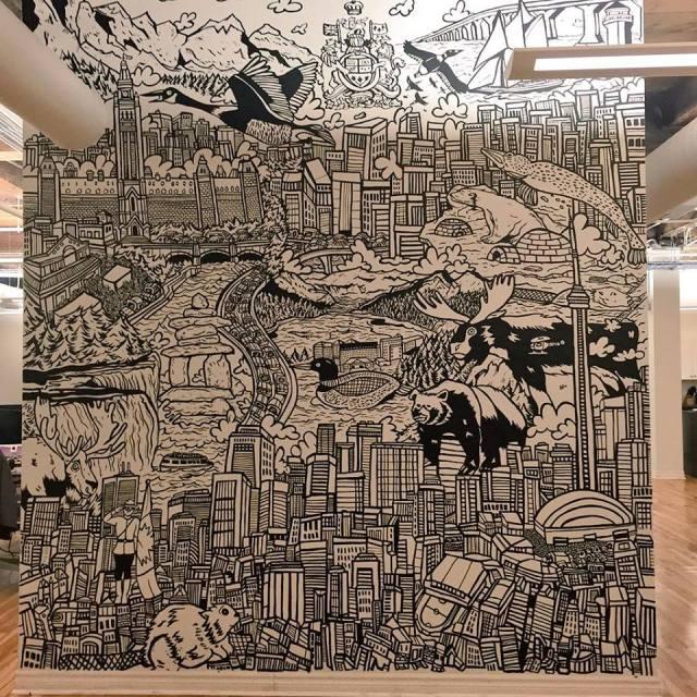 murals,graffiti,art,street art,comics,Toronto