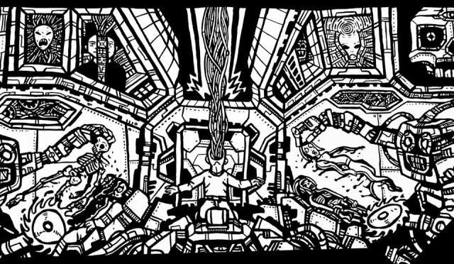 robots, comics,murals,